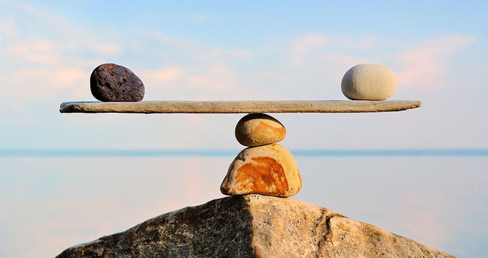 Balance is easier said than done