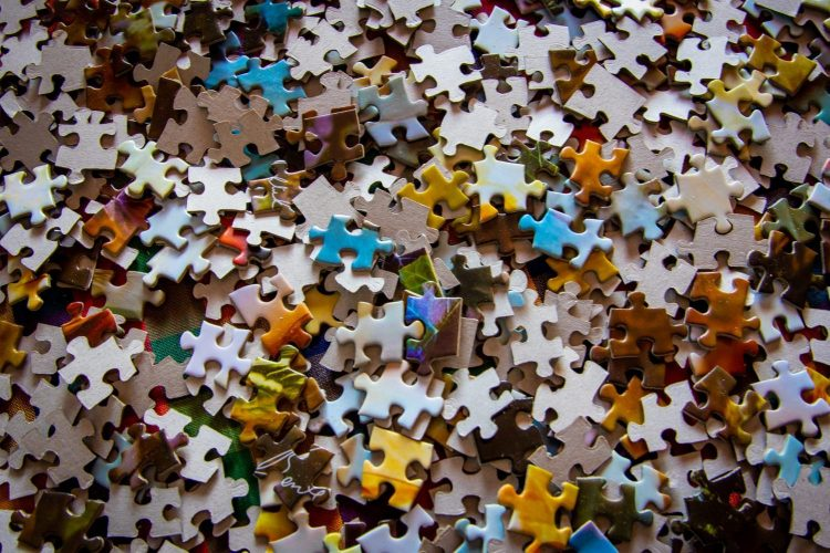 Building the puzzle is easier when you know the final picture